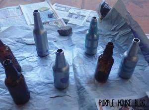 beer bottle vase 1-08