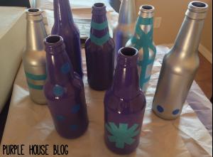 beer bottle vase 1-10