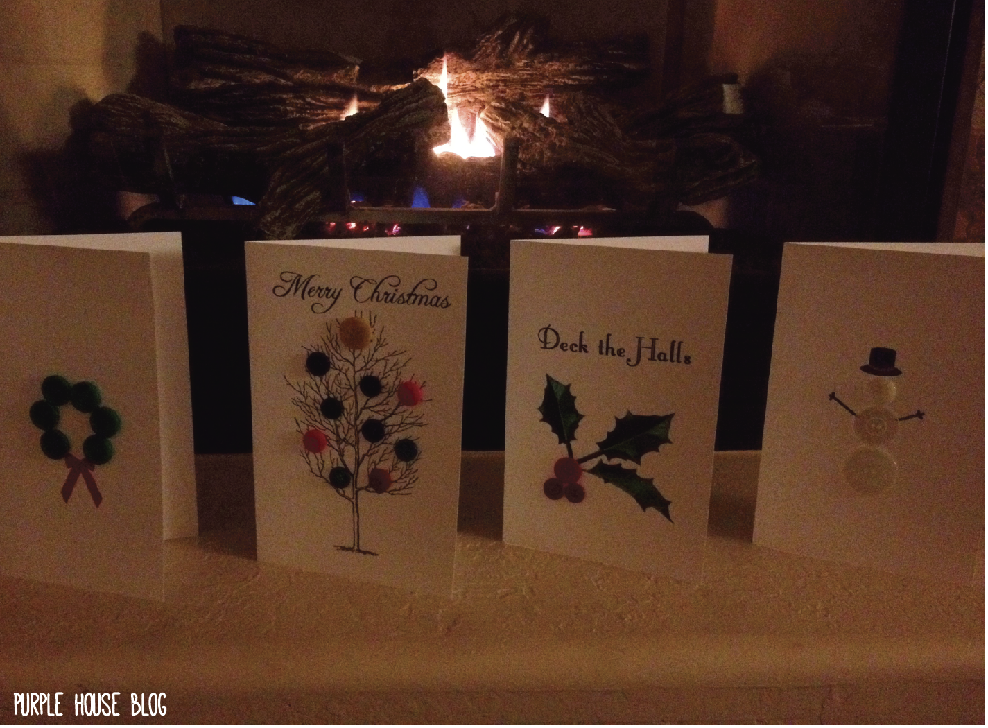 Holiday Cards with 8 Free Downloadable Templates! | Purple House Blog ...