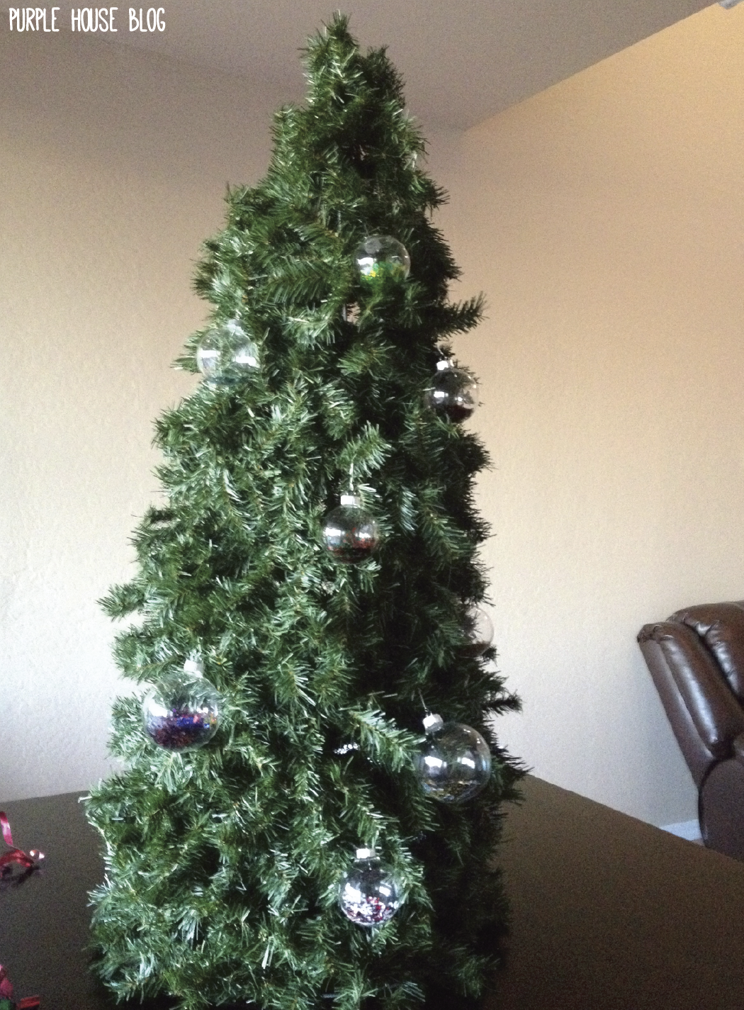 Adjust the garland until it's evenly distributed. Viola! Now you can ...