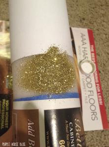 Glitter Candle-12