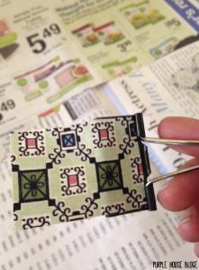 Fabric Bulldog Clip 2-02