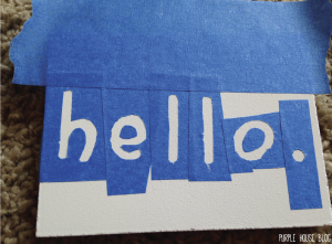 Hello sign 2-17