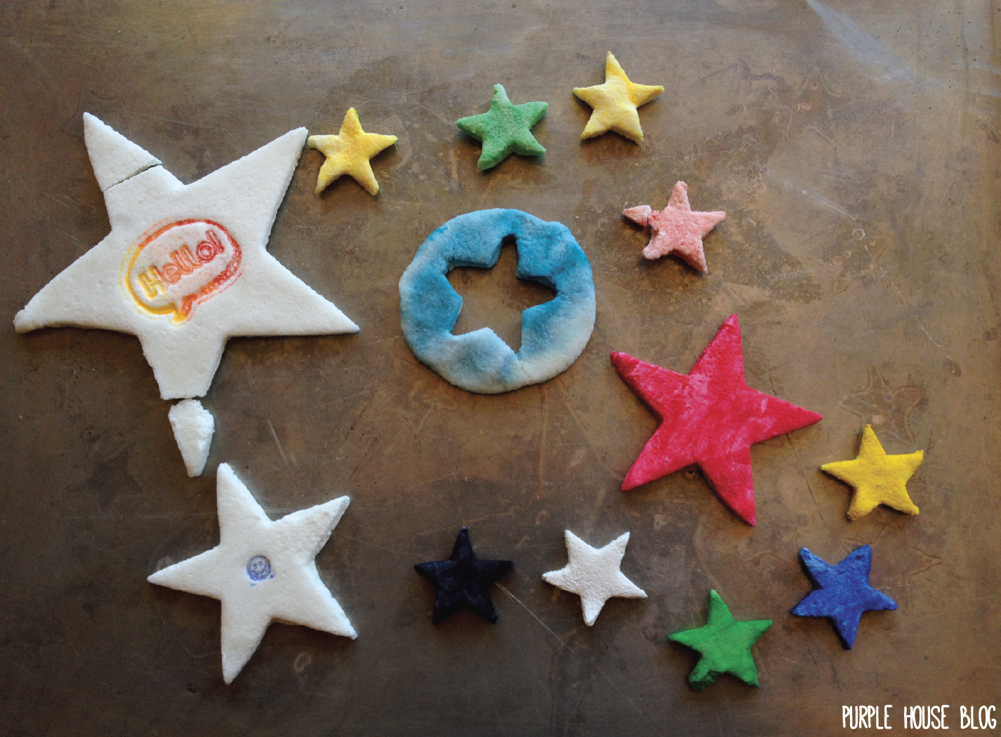 how to make homemade clay without cornstarch