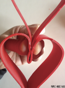 Red Foam Heart Doorhang-11