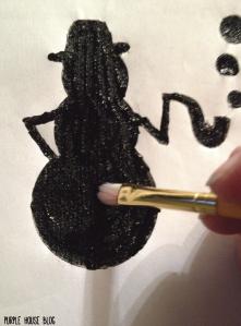 Snowman Stencil 2-04