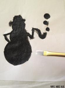 Snowman Stencil 2-08