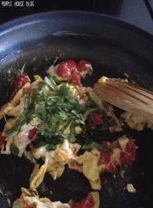 Caprese Scrambled Eggs-05