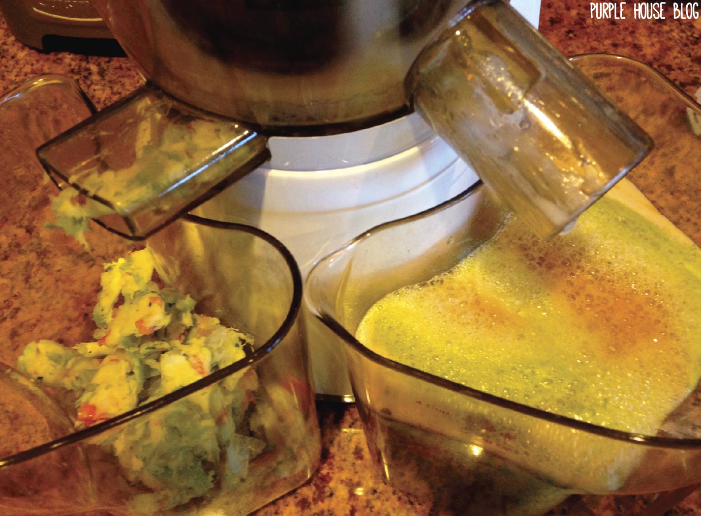 Slow Juicer Lemonade : Green Strawberry Lemonade Purple House Blog