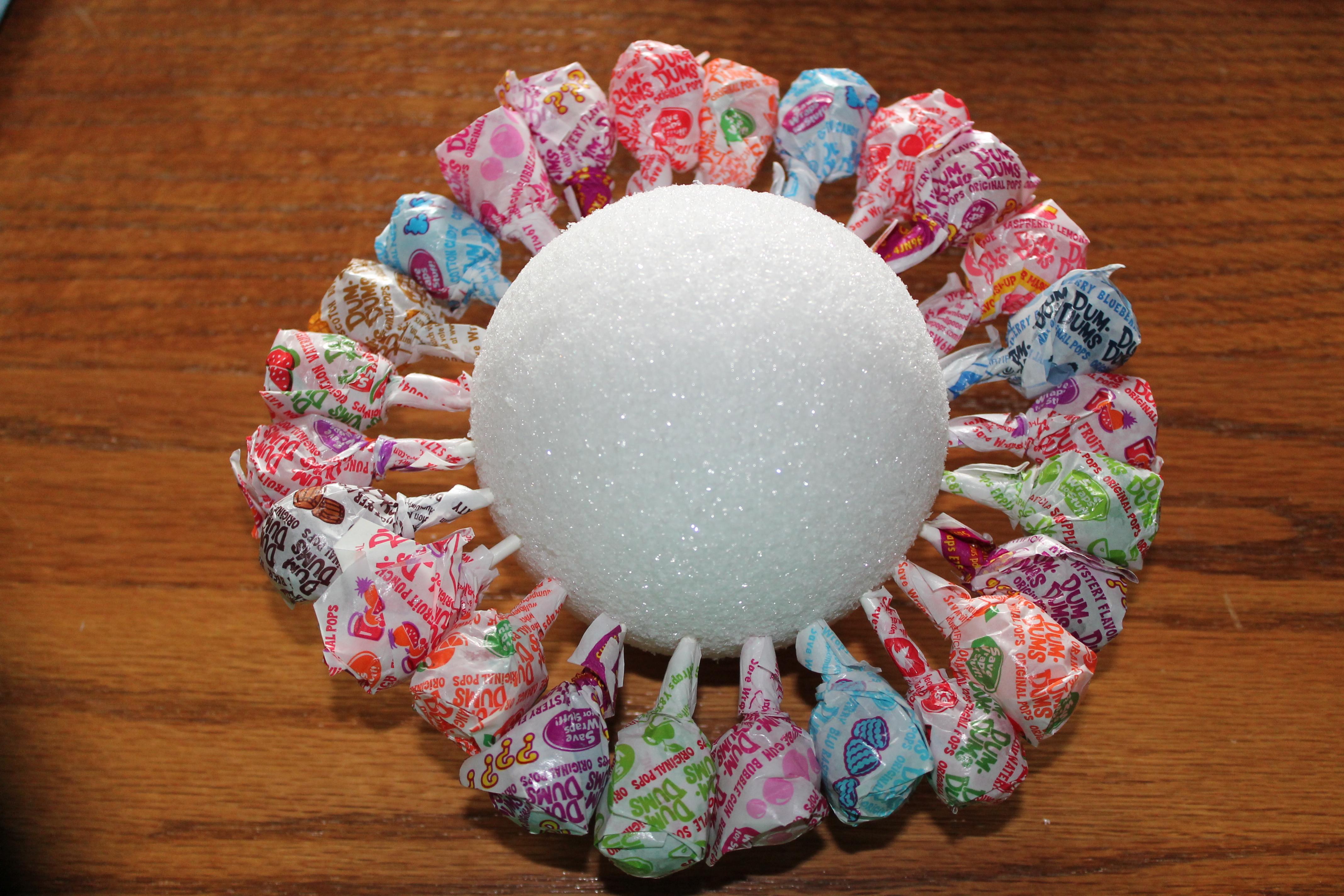 DIY Lollipop Bouquet | Purple House Blog