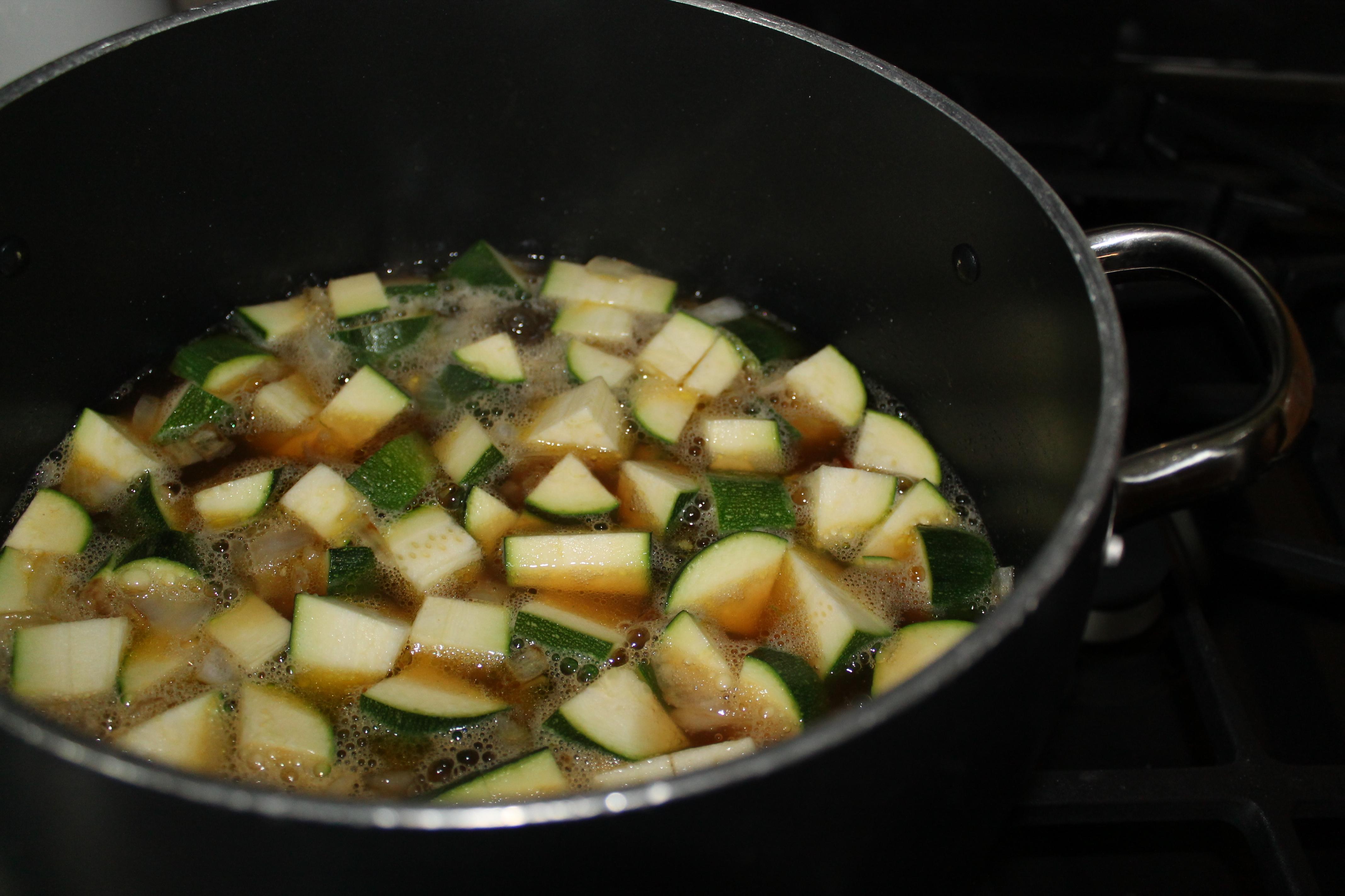 Easy Zucchini Soup | Purple House Blog